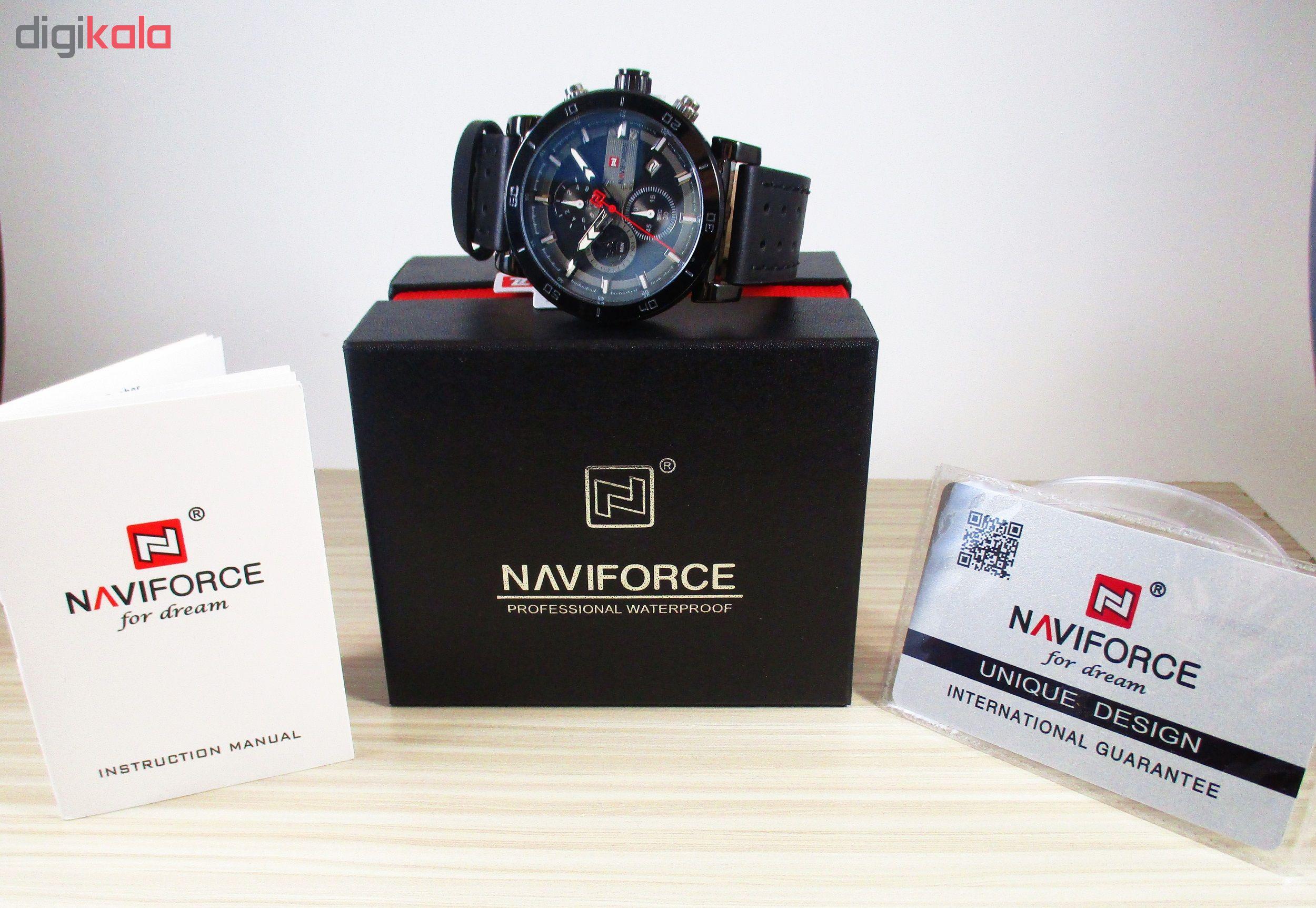 ساعت مچی عقربهای مردانه نیوی فورس مدل NF9131