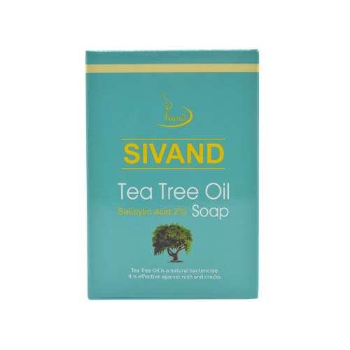 صابون ضد جوش سیوند مدل Tea Tree Oil وزن ۹۰ گرم