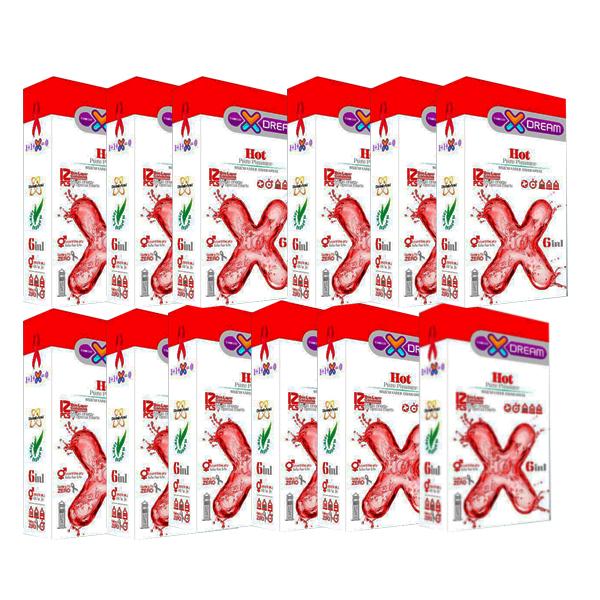 قیمت کاندوم ایکس دریم مدل 01 مجموعه 12 عددی
