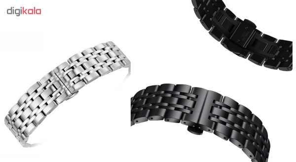 بند ساعت هوشمند مدل Longines مناسب برای ساعت هوشمند Gear S3 thumb 5