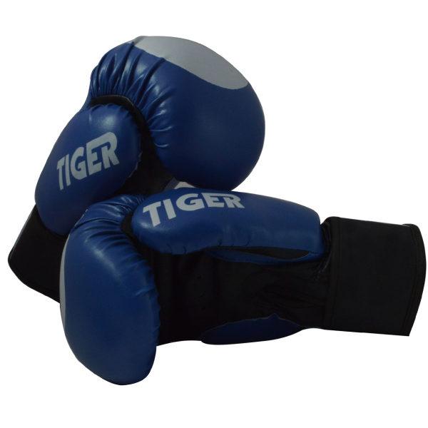 دستکش بوکس فری سایز مدل Blue-Tiger کد 101