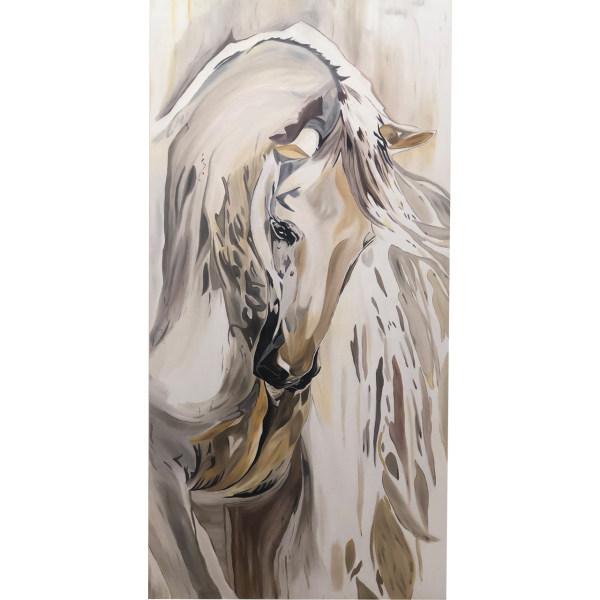تابلو نقاشی طرح اسب