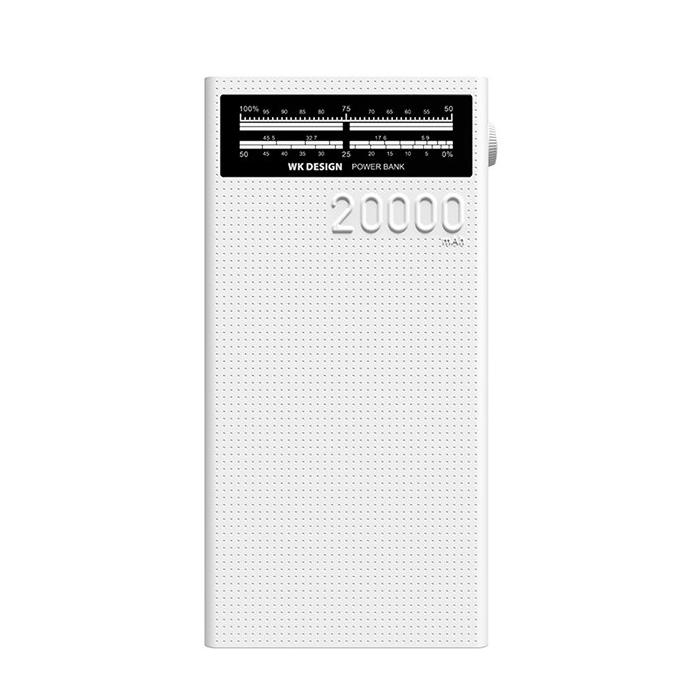 شارژر همراه دبلیو کی مدل WP-058 ظرفیت 20000 میلی آمپر ساعت
