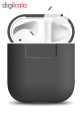 کاور محافظ سیلیکونی الاگو مناسب برای کیس هدفون اپل AirPods thumb 6