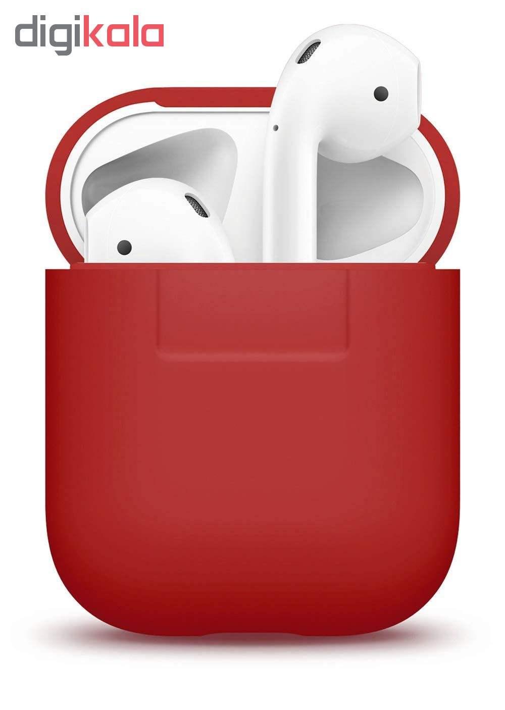 کاور محافظ سیلیکونی الاگو مناسب برای کیس هدفون اپل AirPods main 1 7