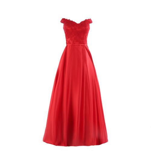 پیراهن زنانه مدل Dreamy Style 2019 رنگ قرمز