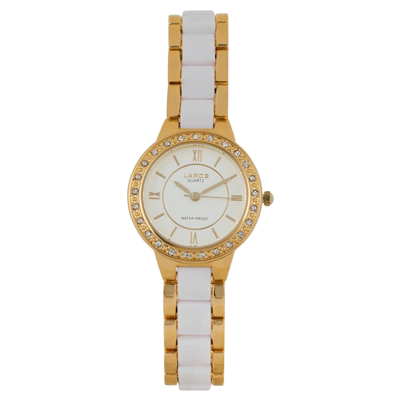 خرید ساعت مچی عقربه ای زنانه لاروس مدل No 0917-80100c