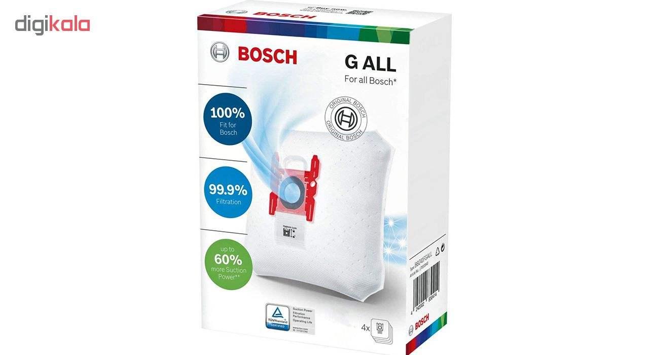 کیسه جاروبرقی بوش مدل GALL مناسب برای جاروبرقی های تایپ G,GXLL,GALLبسته 4 عددی main 1 1