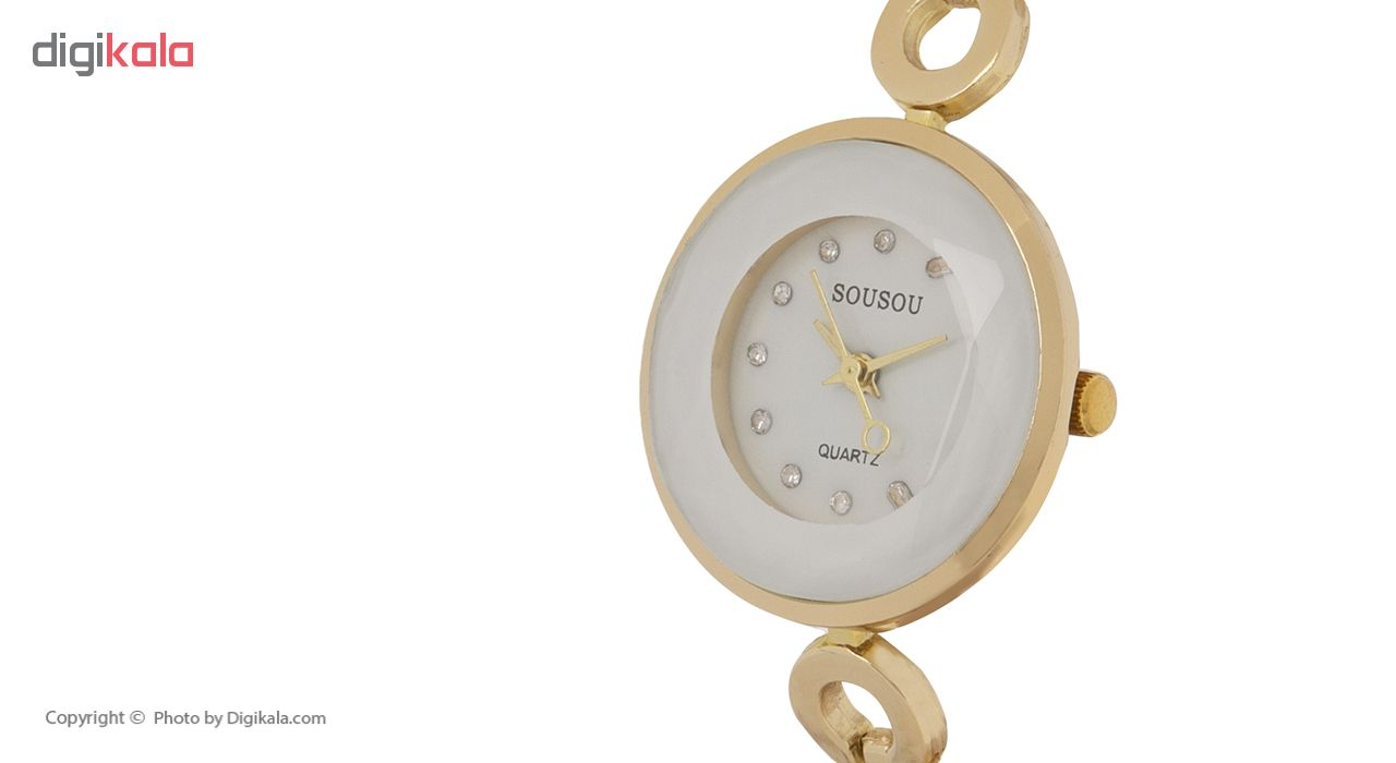 ساعت مچی عقربه ای زنانه سوسو مدل 02