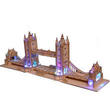 پازل سه بعدی مری پازل مدل TOWER BRIDGE BM-513