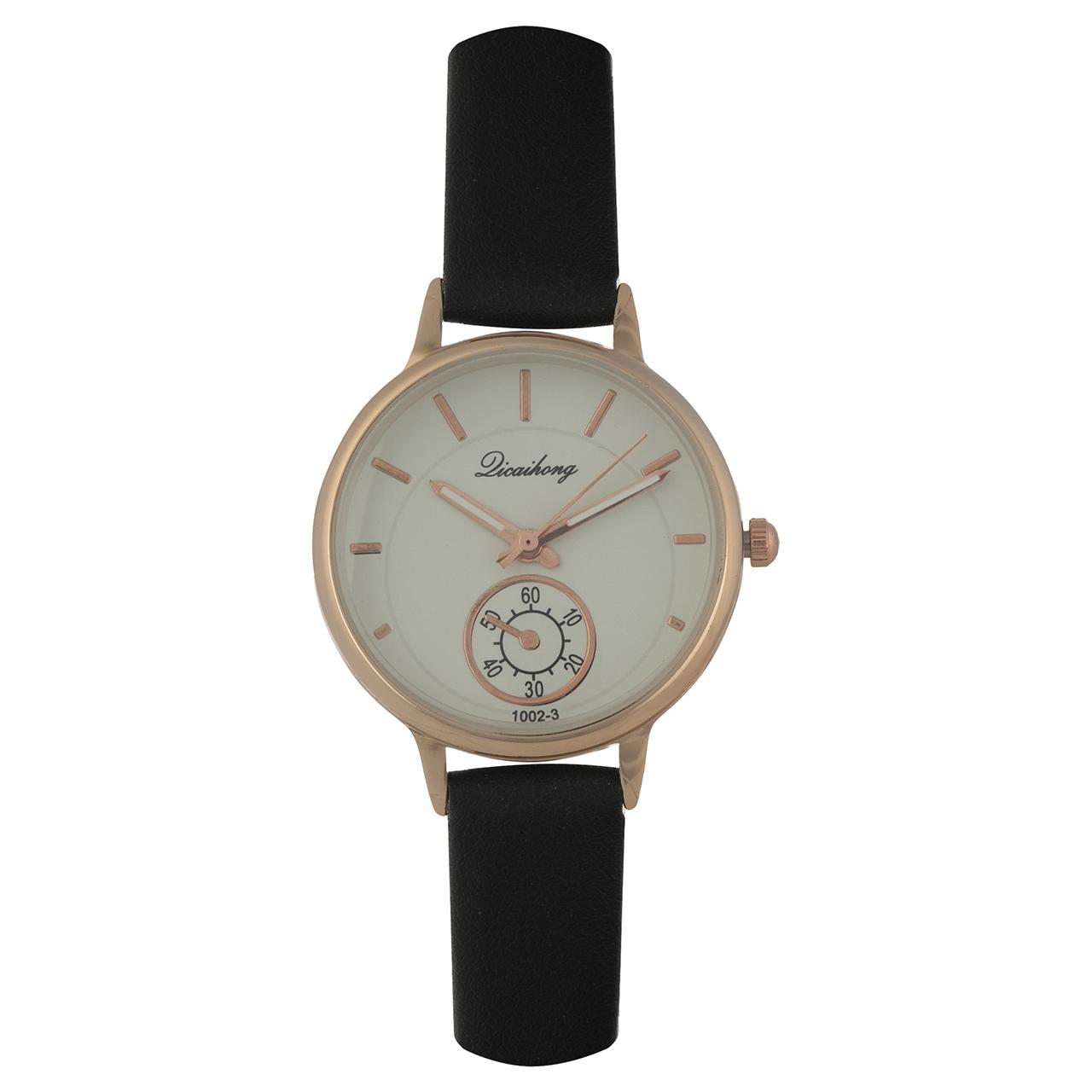 خرید ساعت مچی عقربه ای زنانه دیکایهونگ کد 1002 مدل DW4