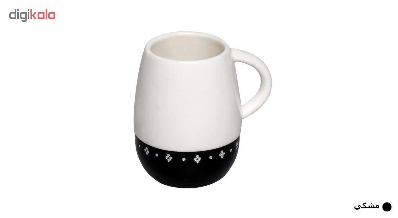 فنجان قهوه خوری آمبر مدل FL 5090 بسته 6 عددی