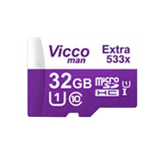 کارت حافظه microSDHC ویکو من مدل Extre 533X کلاس 10 استاندارد UHS-I U1 سرعت 80MBps ظرفیت 32 گیگابایت