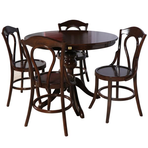 میز و صندلی ناهار خوری چوبکو کد 110