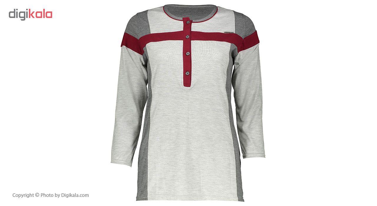 بلوز و شلوار راحتی زنانه رویین تن پوش کد 810              👗