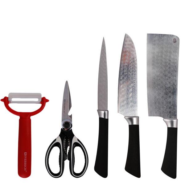 ست چاقو آشپزخانه 5 پارچه اوریچ مدل ER-0050