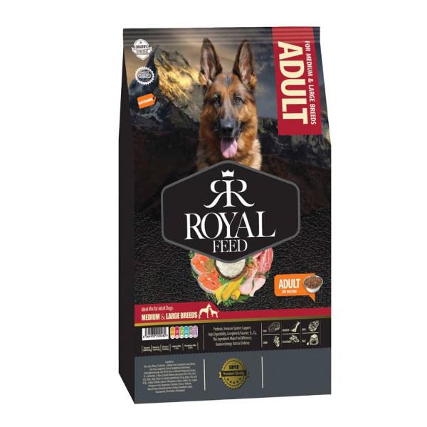 غذای خشک سگ رویال فید مدل ADULT وزن 10کیلوگرم
