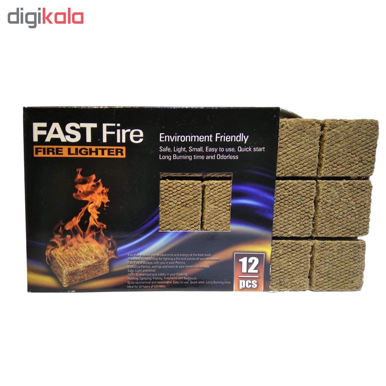 آتشزنه فست فایر مدل p3 بسته 12 عددی main 1 1