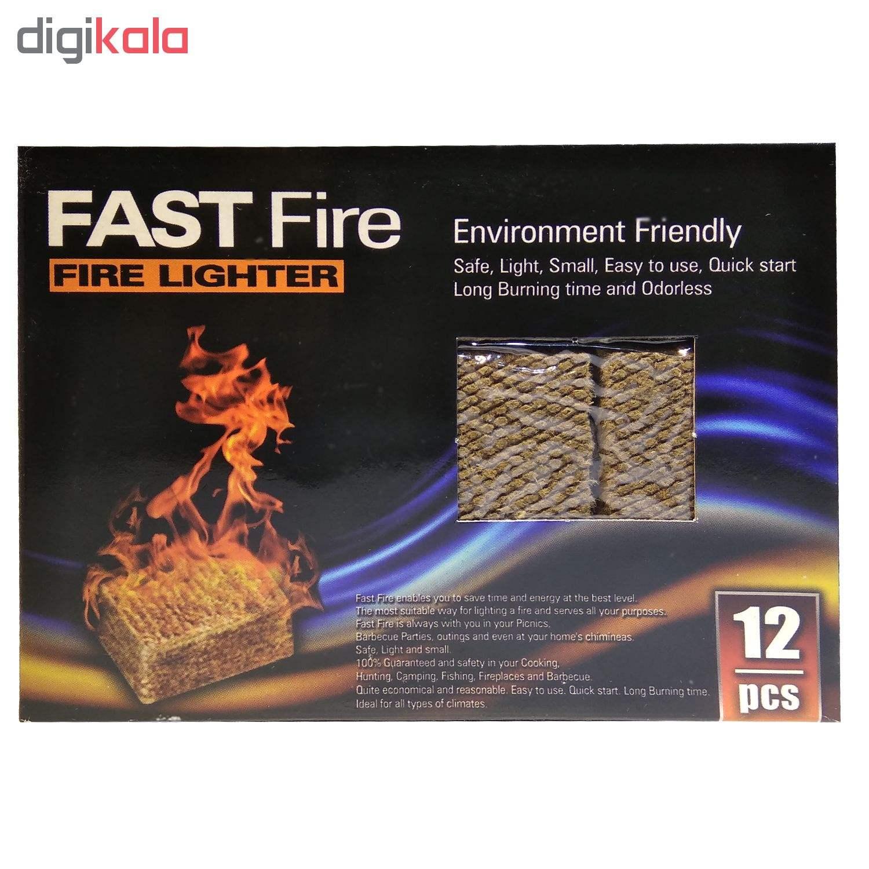 آتشزنه فست فایر مدل p3 بسته 12 عددی main 1 2