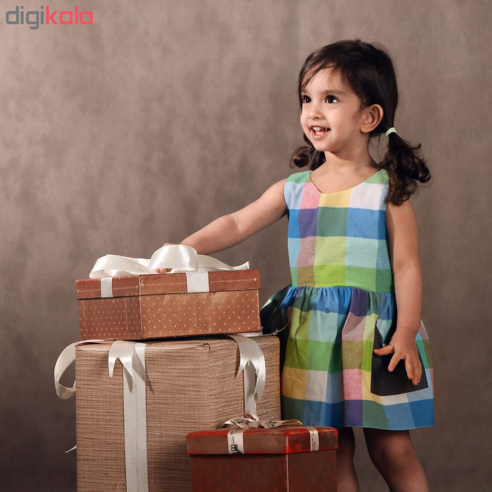 پیراهن دخترانه مای کید مدل 3-1479 main 1 3