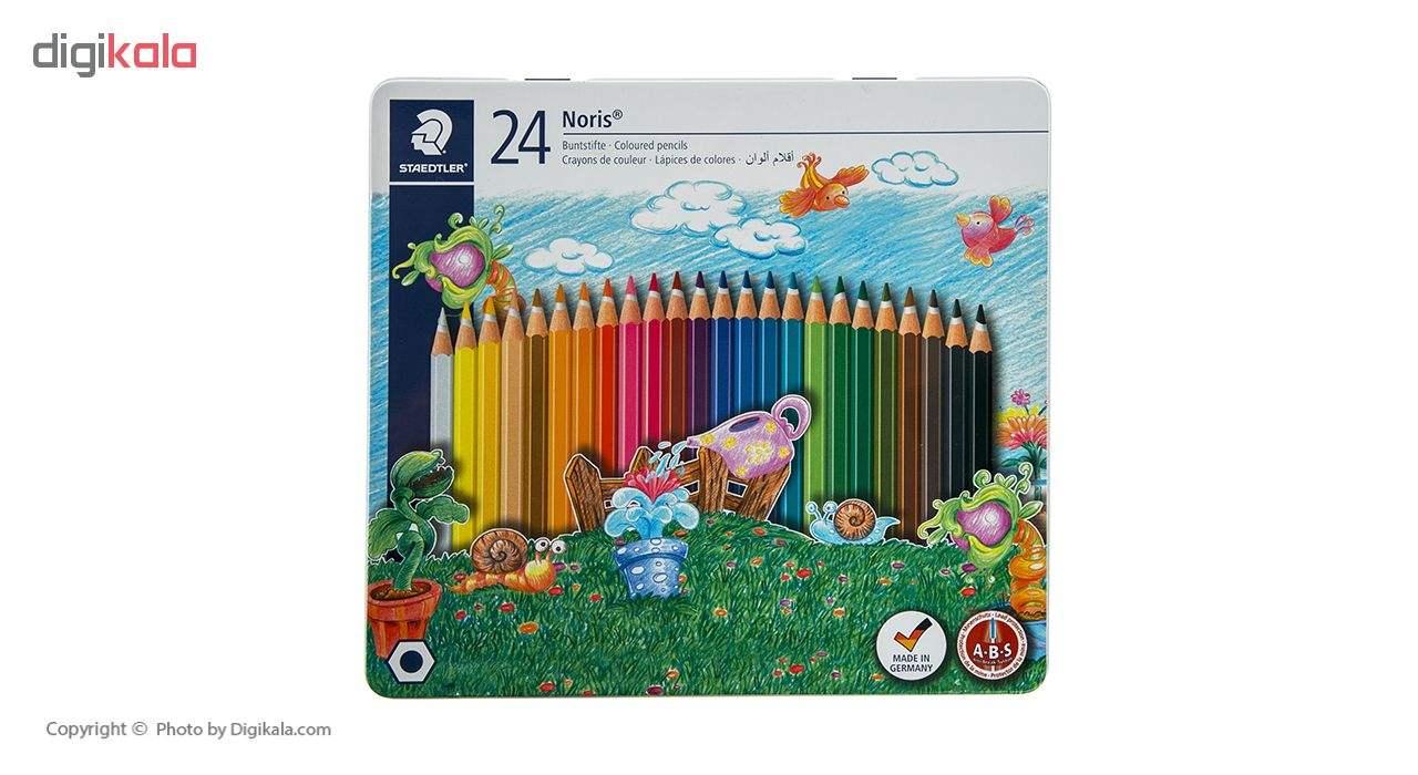 مداد رنگی 24 رنگ استدلر main 1 1