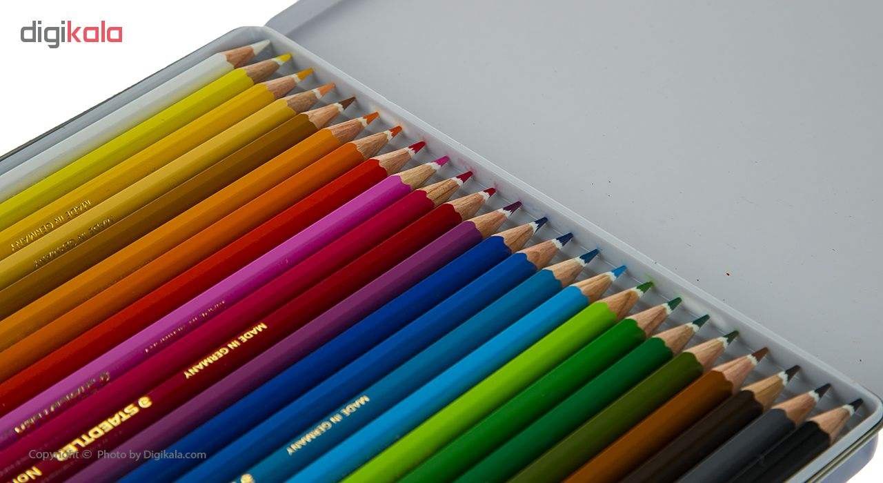 مداد رنگی 24 رنگ استدلر thumb 3