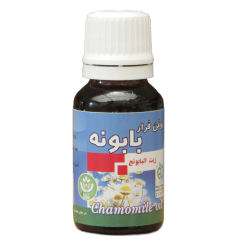 روغن بابونه شفا مدل chamomile oil حجم ۱۸ میلی لیتر