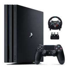 مجموعه کنسول بازی سونی مدل Playstation 4 Pro کد CUH-7216B Region 2 - ظرفیت 1 ترابایت