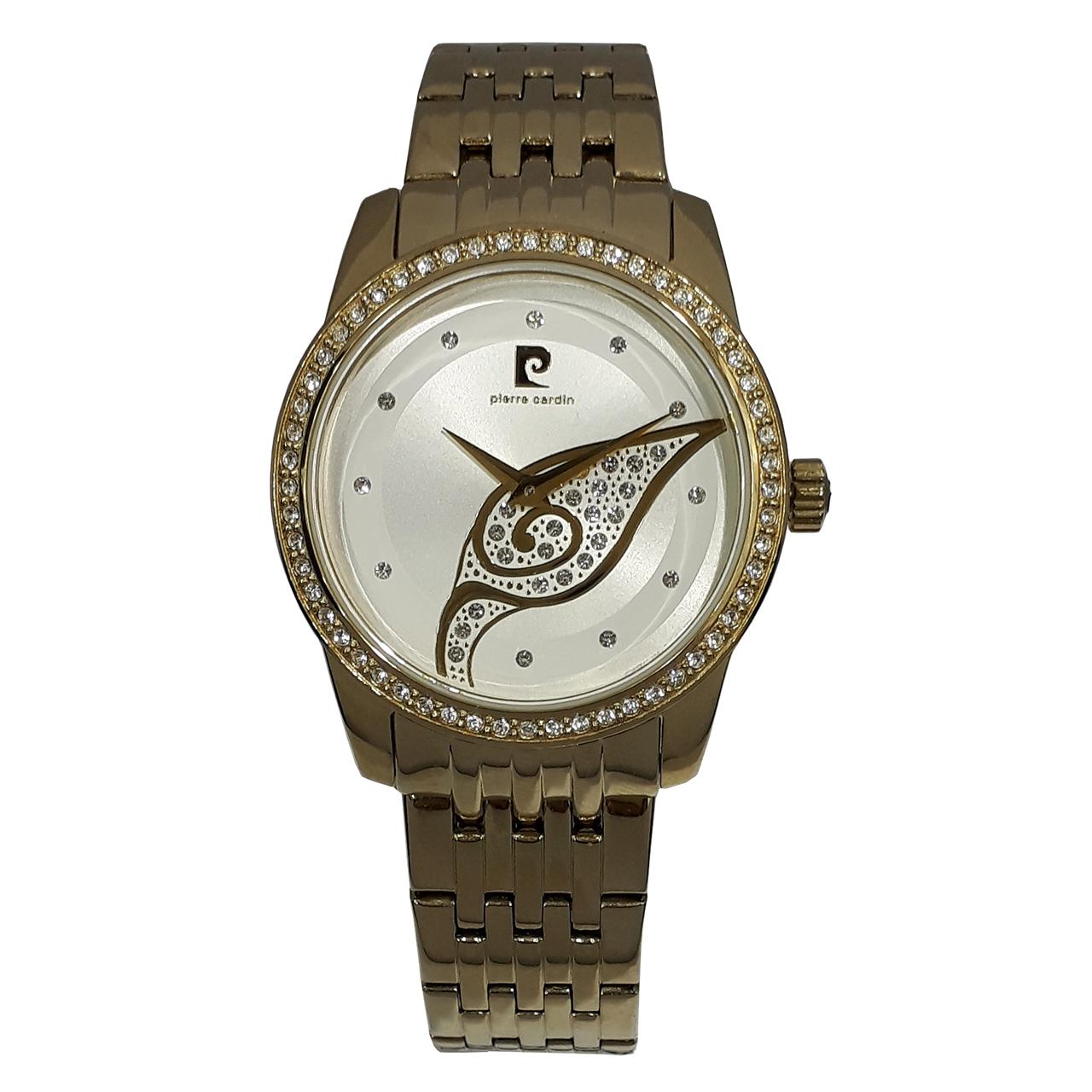 ساعت مچی عقربه ای زنانه پیر کاردین مدل PC106172F22