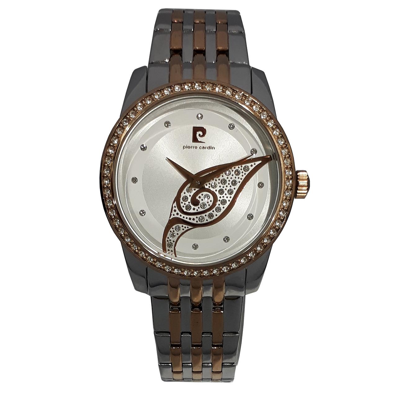 ساعت مچی عقربه ای زنانه پیر کاردین مدل PC106172F21