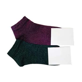 جوراب زنانه طرح لمه کد 02 بسته 2 عددی