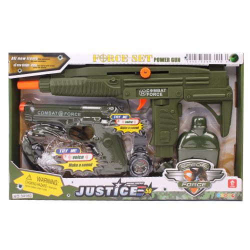تفنگ اسباب بازی جاستیک مدل 7060 بسته 2 عددی