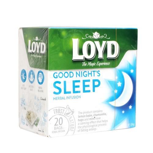 دمنوش خواب آرام لوید بسته 20 عددی