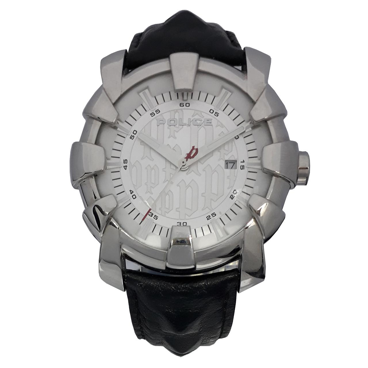 ساعت مچی عقربه ای مردانه پلیس مدل PL13006JS-04