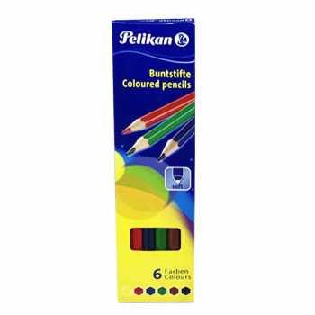 مداد رنگی ۶ رنگ پلیکان کد ۵۹۱۳