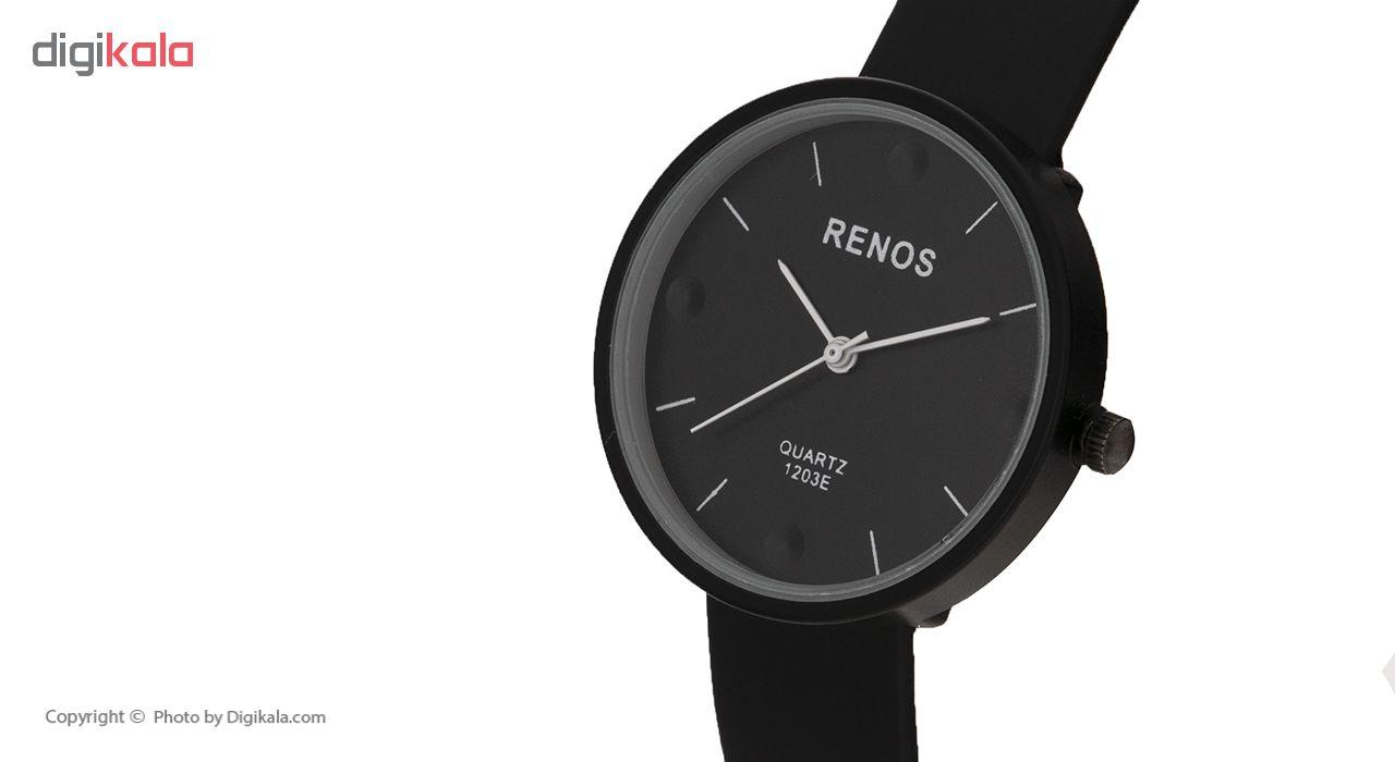 ساعت مچی عقربه ای زنانه رنوس مدل 1203E              ارزان