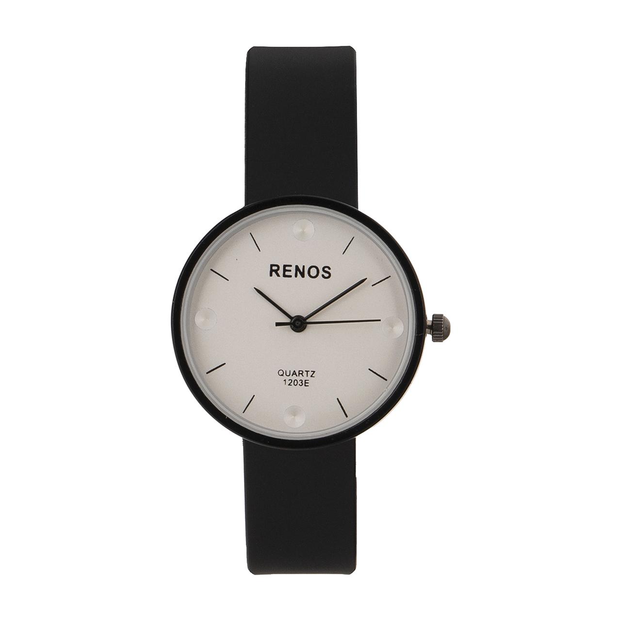 ساعت مچی عقربه ای زنانه رنوس مدل 1203
