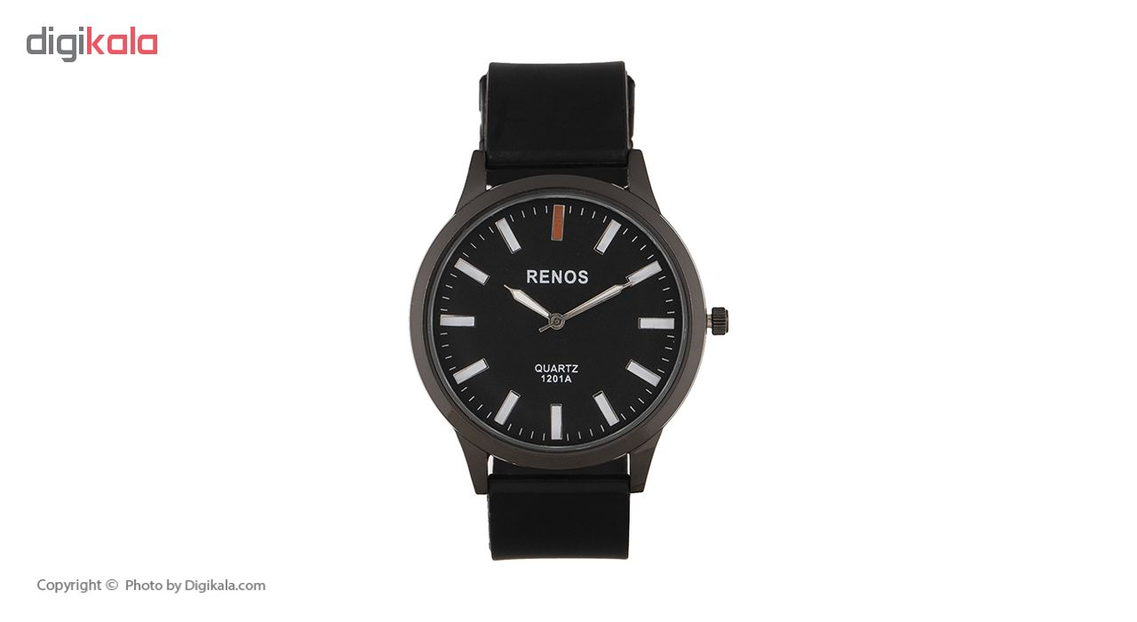 خرید ساعت مچی عقربه ای مردانه رنوس مدل 1201A | ساعت مچی