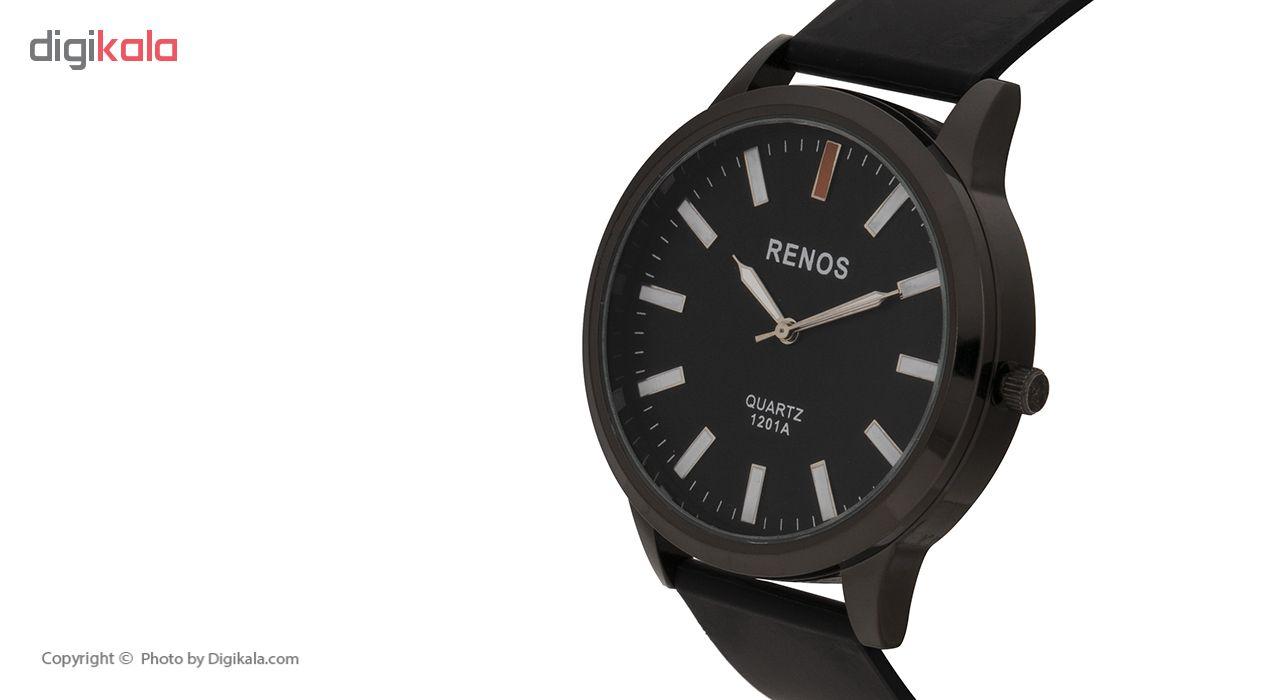 ساعت مچی عقربه ای مردانه رنوس مدل 1201A