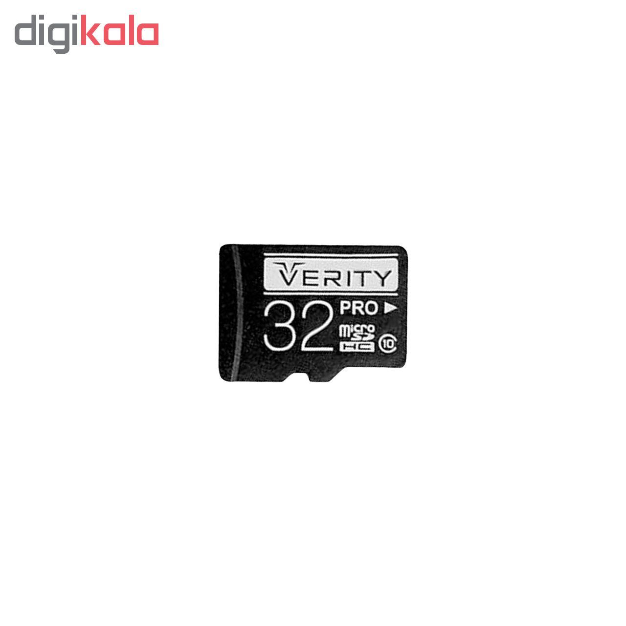 کارت حافظه microSDHC وریتی مدل Pro کلاس 10 استاندارد UHS-I سرعت 30MBps ظرفیت 32 گیگابایت