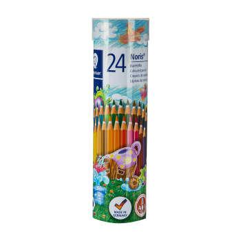مداد رنگی 24 رنگ استدلر مدل Noris Club کد 144NMD