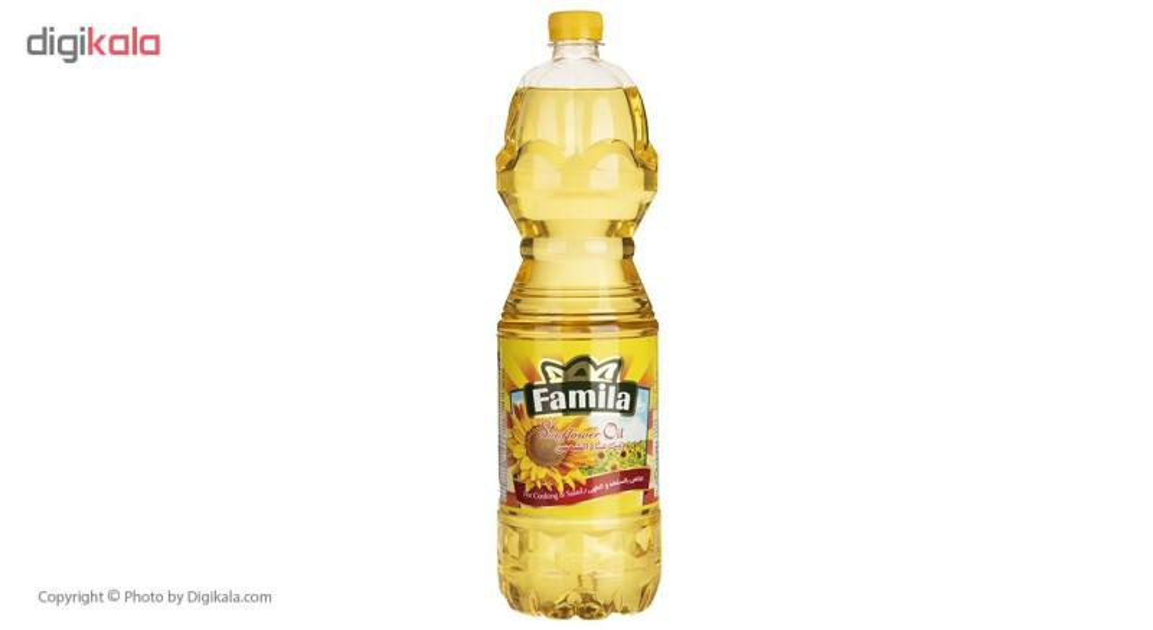 روغن مایع آفتابگردان فامیلا - 1.5 لیتر