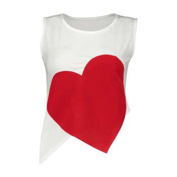 نیم تنه زنانه مدل Heart