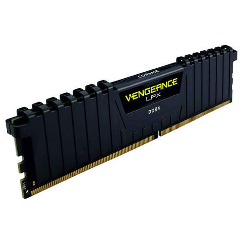 رم دسکتاپ DDR4 دوکاناله 3000 مگاهرتز CL15 کورسیر مدل VENGEANCE LPX ظرفیت 16 گیگابایت