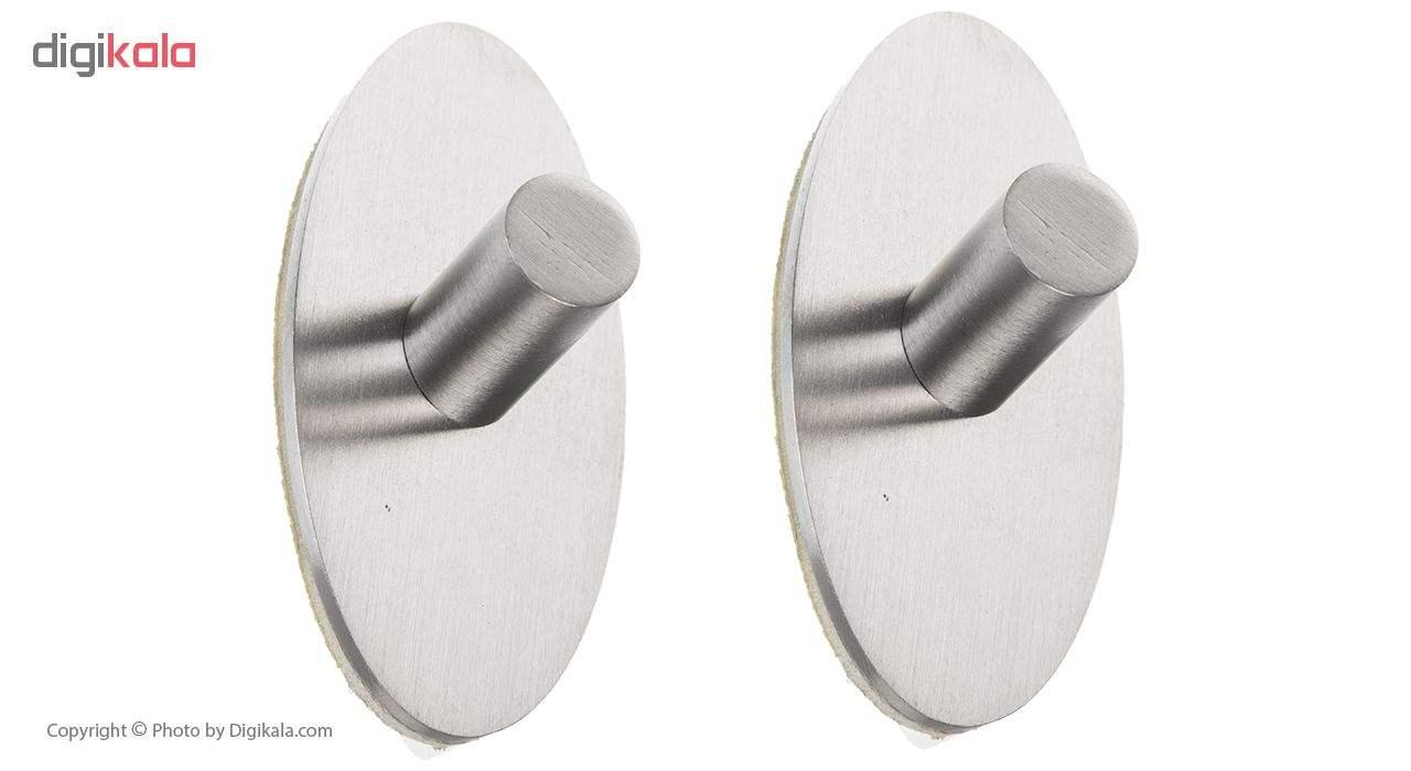 آویز حوله ونکو مدل Piceno steel بسته 2 عددی main 1 1
