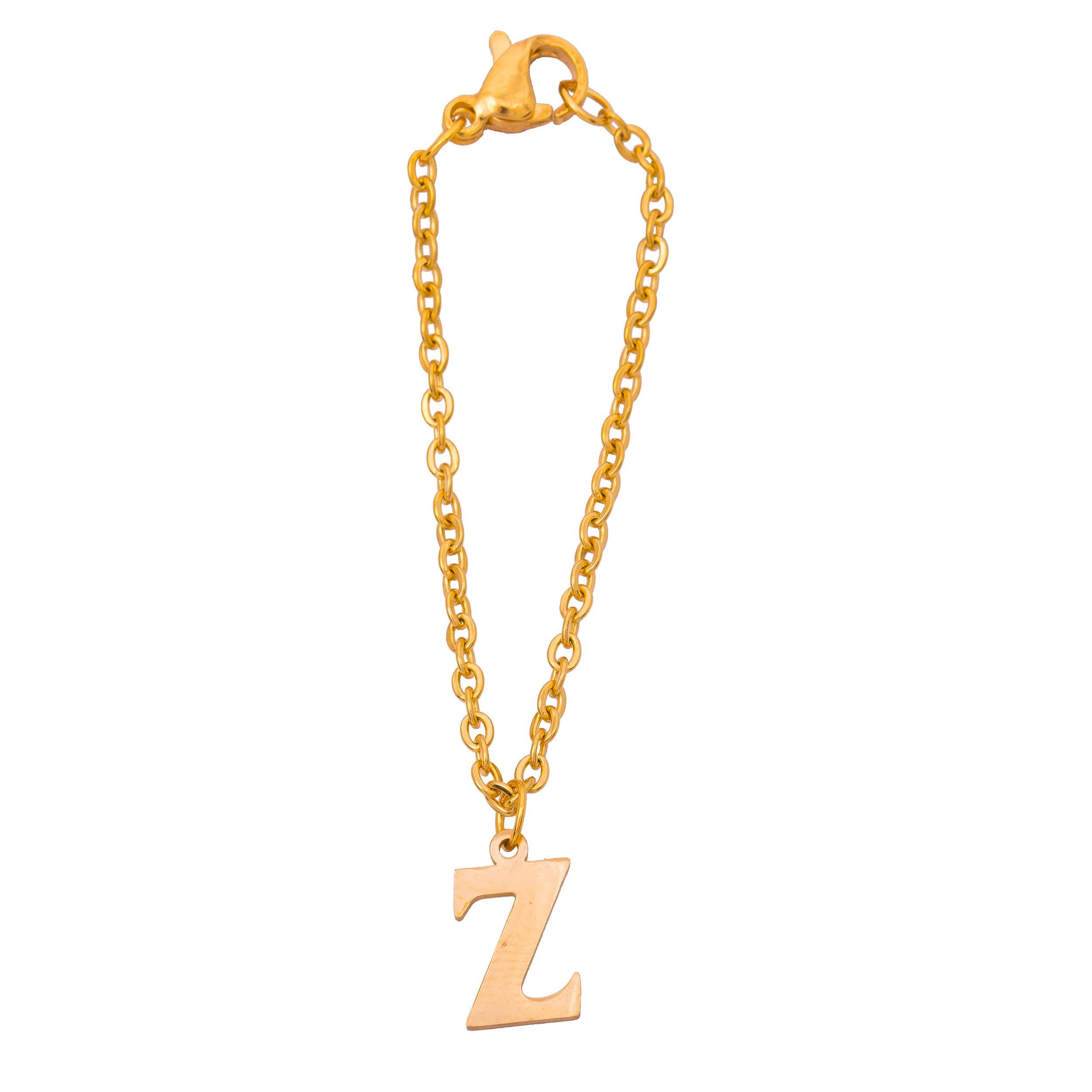 خرید آویز ساعت زنانه حرف Z کد AS1002