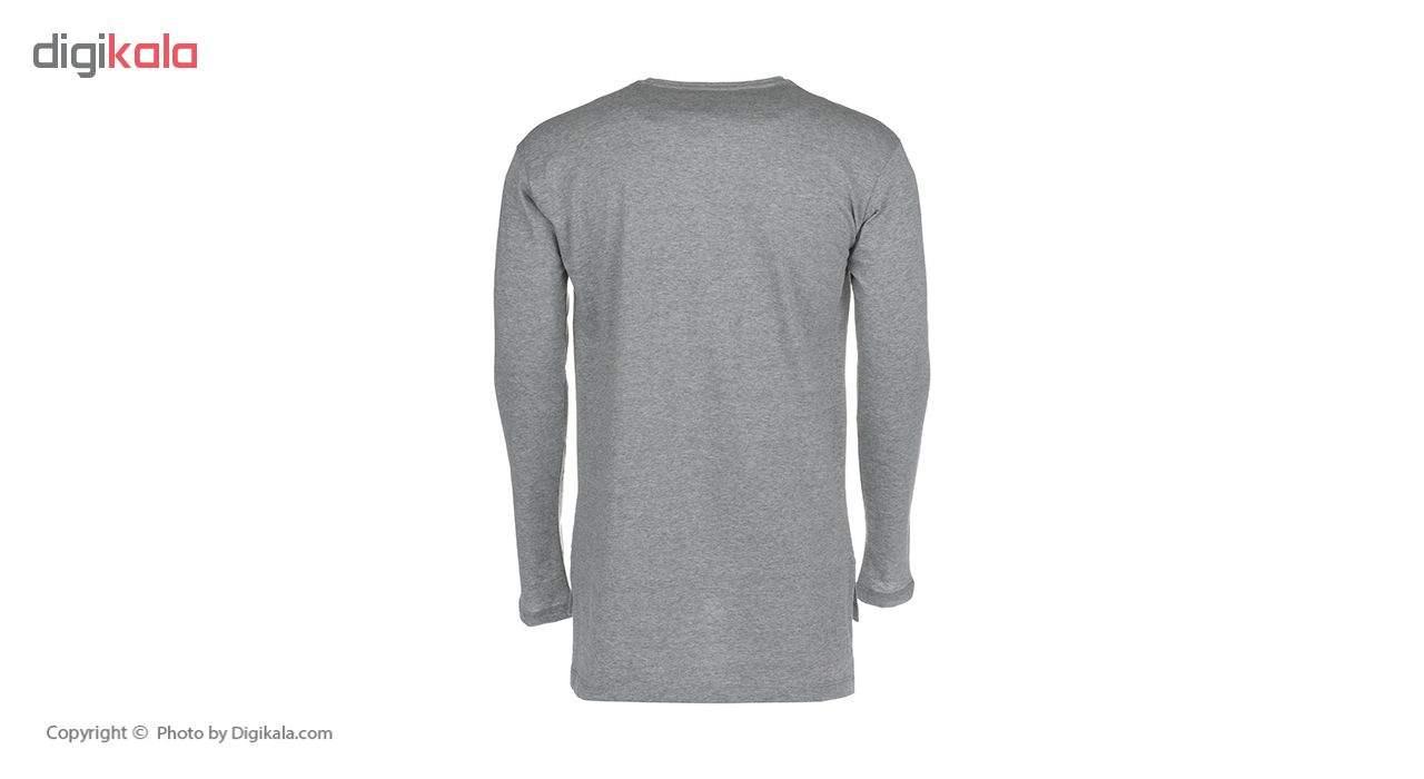 تی شرت نخی آستین بلند مردانه - 63 -  - 3
