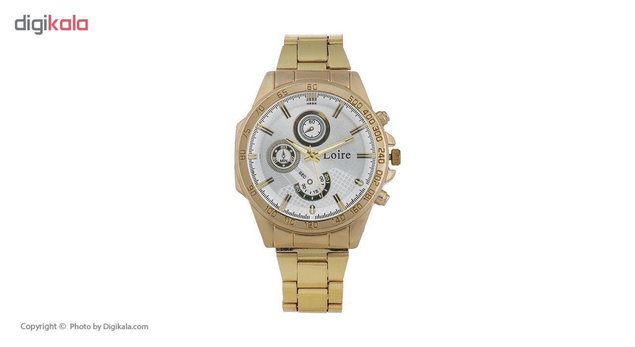 خرید ساعت مچی عقربه ای مردانه لویر مدل 33