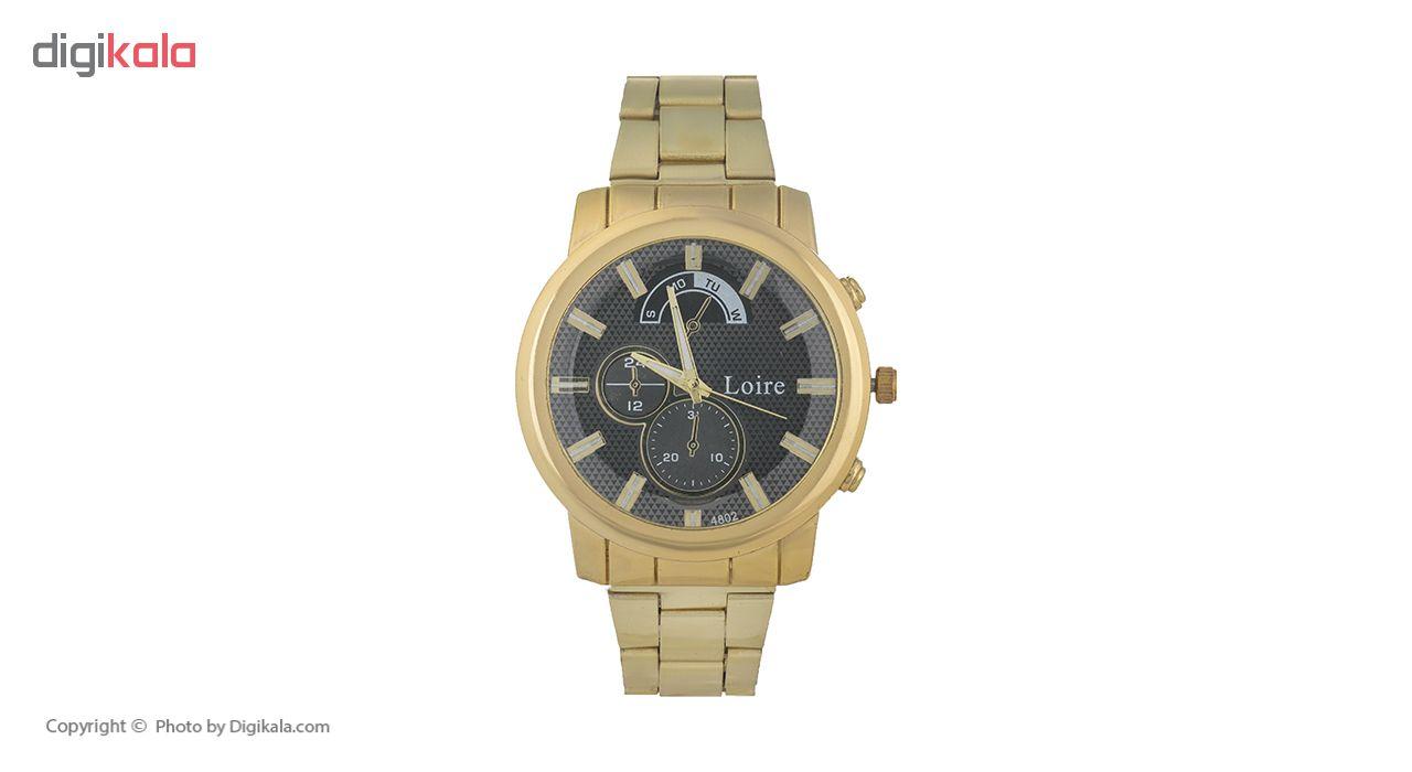 خرید ساعت مچی عقربه ای مردانه لویر مدل 36