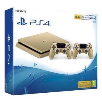 کنسول بازی سونی مدل Playstation 4 Slim کد Region 2 CUH-2016A - ظرفیت 500 گیگابایت |